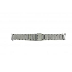 Correa de reloj QQ22RHZIL Metal Plateado 22mm