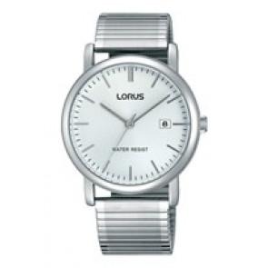 Lorus correa de reloj RG855CX9 / VJ32 X246 / RHA042X Metal Plateado 19mm