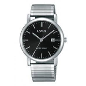 Lorus correa de reloj RG857CX9 / VJ32 X246 / RHA042X Metal Plateado 19mm