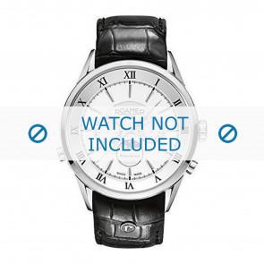 Correa de reloj Roamer 508821-41-13-05 Cuero Negro 22mm