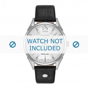 Roamer correa de reloj 550660-41-25-05 Cuero Negro 18mm