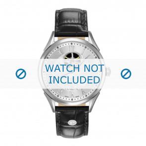 Correa de reloj Roamer 550661-41-22-05 Cuero Negro 20mm
