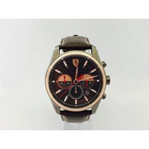 Correa de reloj Ferrari SF-21.1.34.0142 / 689300142 Cuero Marrón