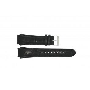 Prisma correa de reloj SPECZW21 Cuero Negro 21mm + costura negro
