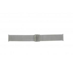 Morellato correa de reloj ST1820 Metal Plateado 20mm