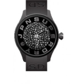 Correa de reloj Superdry SYL152B Plástico Negro