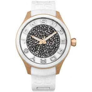 Correa de reloj Superdry SYL152W Plástico Blanco