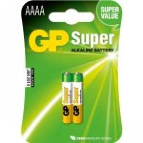GP Batería Super Alkaline AAAA - 1.5v