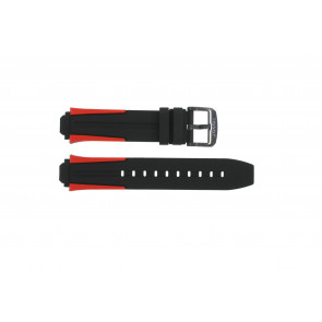 Correa de reloj Tissot T1114173744101A / T603040970 Silicona Multicolor