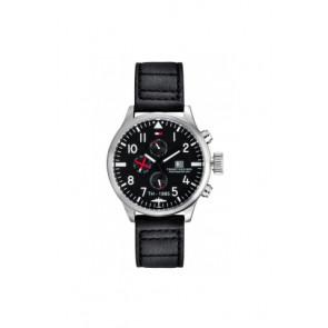 Correa de reloj Tommy Hilfiger TH-102-1-14-0878 Cuero Negro 20mm