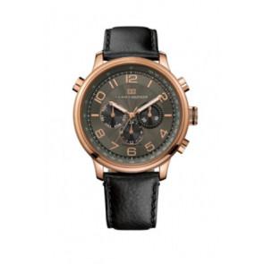 Correa de reloj Tommy Hilfiger TH.145.1.34.1051 Cuero Negro