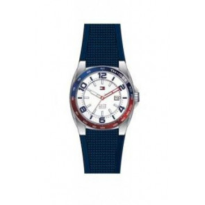 Correa de reloj Tommy Hilfiger TH1790885 Caucho Azul