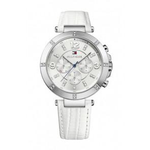 Correa de reloj Tommy Hilfiger TH-246-3-14-1852S Cuero Blanco