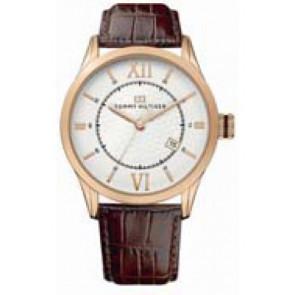 Correa de reloj Tommy Hilfiger TH-85-1-34-0816 - TH679301079 Cuero Marrón 21mm