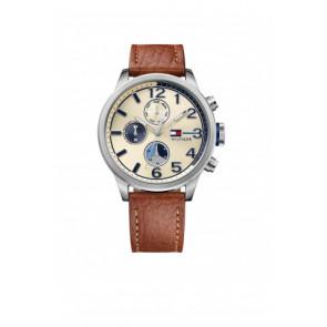 Correa de reloj Tommy Hilfiger TH-102-1-14-2038 / TH679301952 Cuero Cognac 22mm