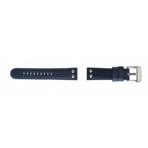 TW Steel correa de reloj TW400 Piel Azul 22mm