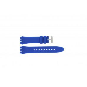 Correa de reloj Universal S07 Silicona Azul 19mm
