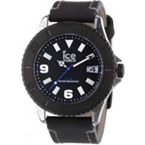 Correa de reloj Ice Watch VTBKB.B.L.13 / VTBK.BB.L.13 Cuero Negro 22mm