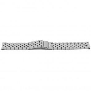 Correa de reloj YJ27 Metal Plateado 26mm