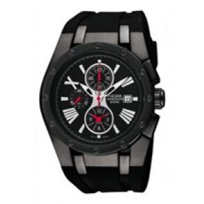 f852ab984461 Correa de reloj Pulsar YM62-X186-PF3811X1 Caucho Negro