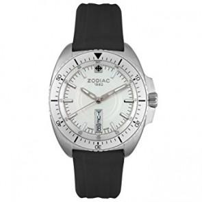 Zodiac correa de reloj ZO5500 Caucho Negro