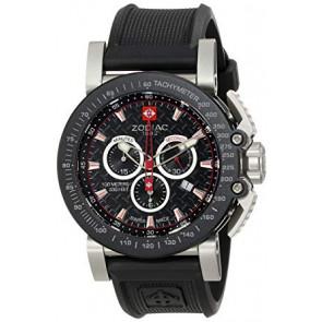 Correa de reloj Zodiac ZO8503 Caucho Negro 24mm