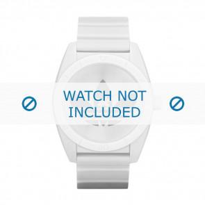 Correa de reloj Adidas ADH2703 Plástico Blanco 22mm