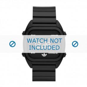 Correa de reloj Adidas ADH2726 Silicona Negro 22mm