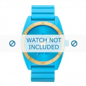 Adidas correa de reloj ADH2801 Silicona Azul 22mm