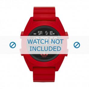 Adidas correa de reloj ADH2909 Silicona Rojo 24mm
