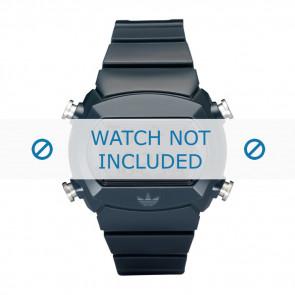 Adidas correa de reloj ADH6065 Silicona Azul 22mm