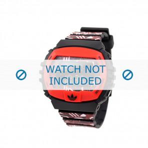 Adidas correa de reloj ADH6128 Silicona Rojo 16mm