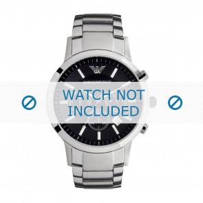 Correa de reloj Armani AR2434 / 11XXXX Acero Acero 22mm