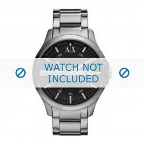 Armani correa de reloj AX2103 Metal Gris antracita