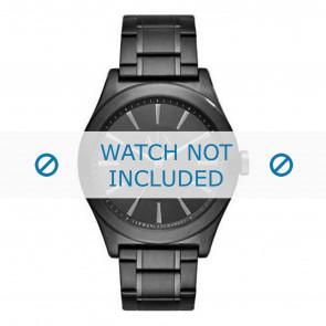 Armani correa de reloj AX2322 Metal Negro
