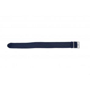 Correa de perlón 20mm azul claro