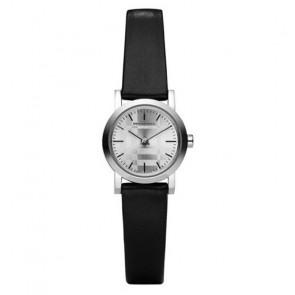 Correa de reloj Burberry BU1761 Cuero Negro