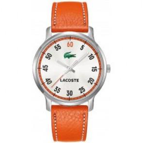 Correa de reloj Lacoste 2000568 / LC-41-3-14-2199 Cuero Naranja 20mm