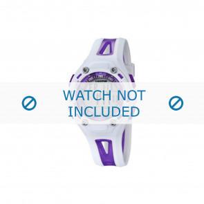 Calypso correa de reloj K5666-2 Plástico Púrpura 21mm