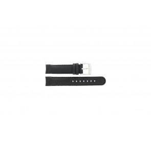 Correa de reloj Camel 4040-4059 Carbono Negro 18mm