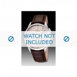 Candino correa de reloj C4517-1 Cuero Marrón + costura marrón