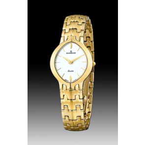 Correa de reloj Candino C4227-1 / C4227-2 / C4227-3 (BA02192) Acero Chapado en oro