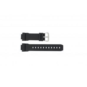 Casio correa de reloj DW-004C-1VST / DW-9051-DW-9052 / 71606395 Plástico Negro 16mm