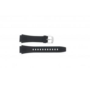 Correa de reloj EFA-124-1AVW / 10268556 Plástico Negro 20mm