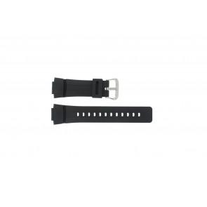 Casio correa de reloj G-100-1BV Silicona Negro 16mm