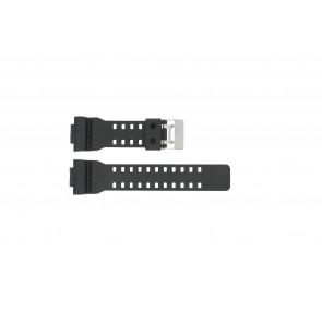 Casio correa de reloj G-8900-1 / GA-100-1 / GA-110 / GA-110MB / 10347688 Plástico Negro 16mm