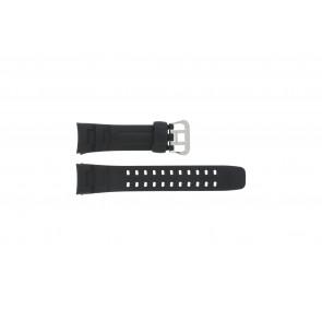 Correa de reloj G-7400-1V Silicona Negro 16mm