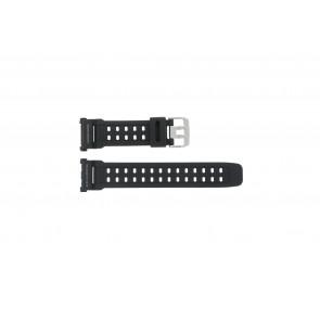 Casio correa de reloj G-9000-1  Silicona Negro 27mm