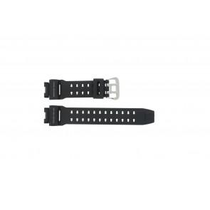 Correa de reloj Casio G-9200-1 / GW-9200 / 10297191 Plástico Negro 16mm
