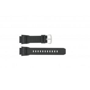 Casio correa de reloj G-9300-1 / 10388870 Silicona Negro 20mm
